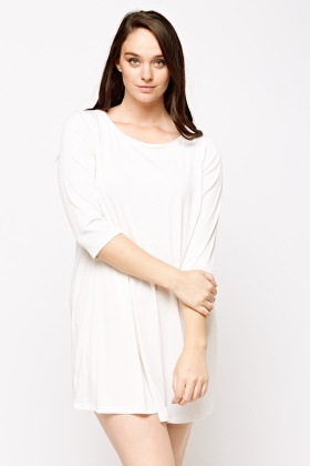 Slip On Basic Casual Dress