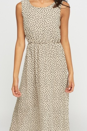 Polka Dot Sheer Dress