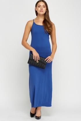Casual Sleeveless Maxi Dress