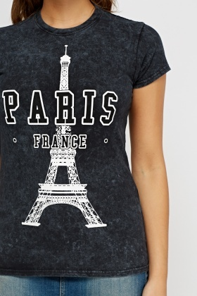 Paris Printed T-Shirt