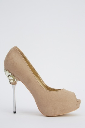 LYDC London Gem Stiletto Heels