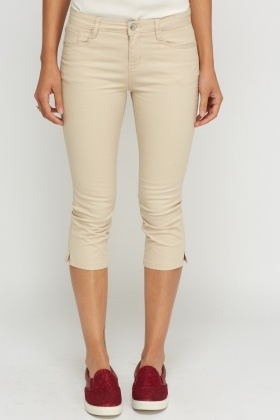 Causal Cropped Trousers