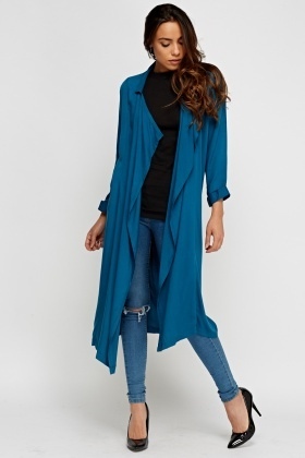 Waterfall Long Line Drape Jacket