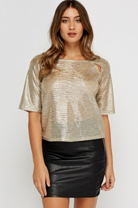 Metallic Box Top
