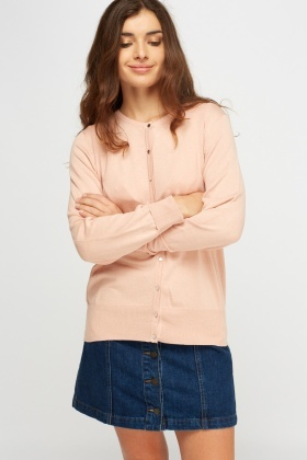 Button Up Knitted Top