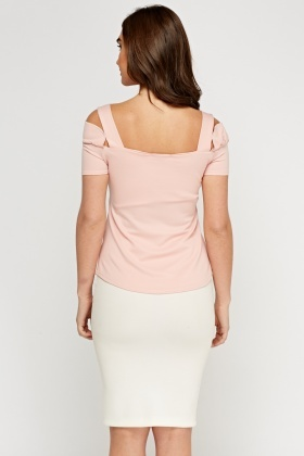Frilled Pink Top
