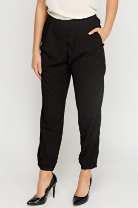 Light Weight Fitted Waist Trousers