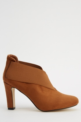 Elasticated Side Heels