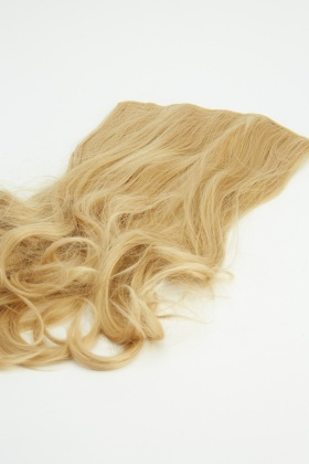 Brilliant Blonde 20'' Full Head Extra Full Faux Hair