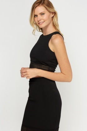 Elasticated Trim Crop Top