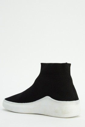 High Top Sock Boots