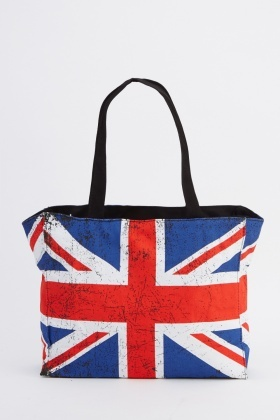 Flag Printed Handbag