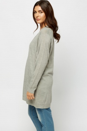 V-Neck Jumper Dress