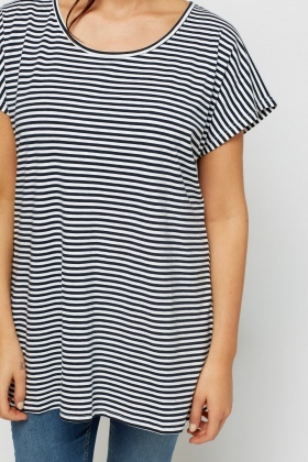 Batwing Stripe T-Shirt