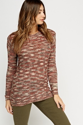 Multi Knitted Jumper