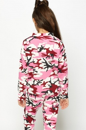 Pink Printed Sweater