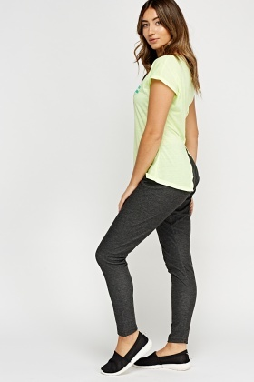 Speckled Elasticated Leggings