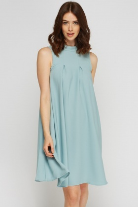 High Neck Tent Dress