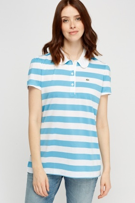 Lacoste Striped Thin Polo T-Shirt