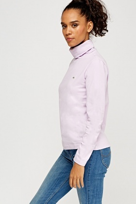Lacoste Turtle Neck Long Sleeve Top