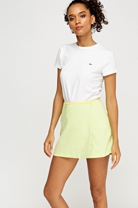 Lacoste Wrapped Mini Skirt