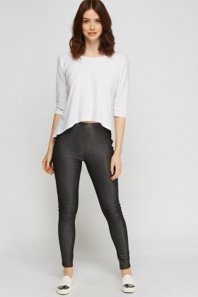 Fitted Basic Leggings