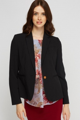 Formal Lapel Blazer