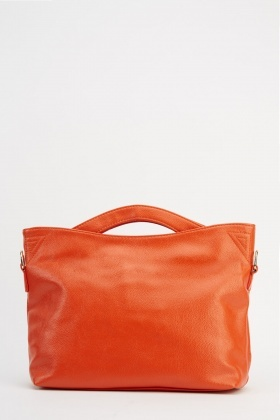 Faux Leather Casual Bag