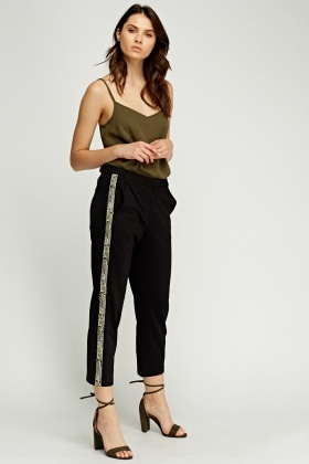 Juicy Couture Beaded Trim Pants