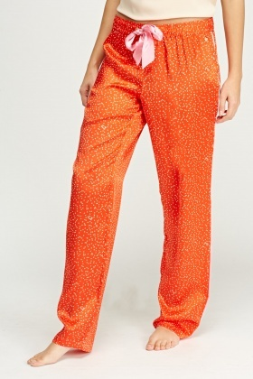 Juicy Couture Printed Pyjama Bottoms