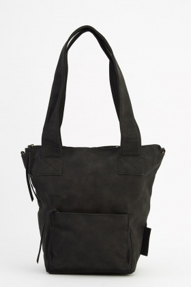 Zip Pocket Front Casual Bag