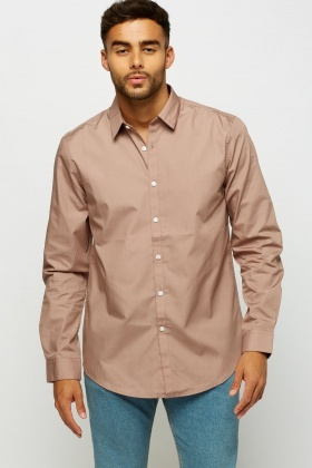 Light Mauve Formal Shirt