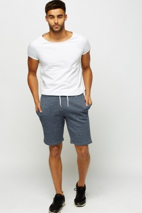Speckled Casual Shorts