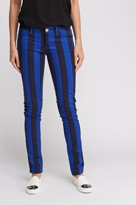 Juicy Couture Striped Jeans