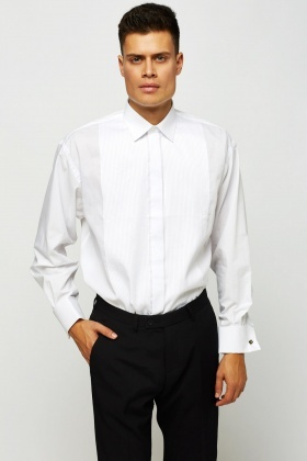 Textured Panel Mens Shirt