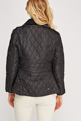 Quilted Black Jacket - Just £5