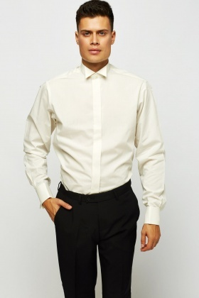 Smart Extra Tall Ivory Shirt