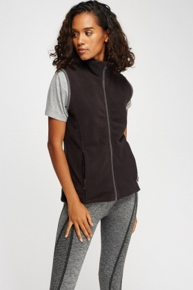 Fleece Casual Gilet