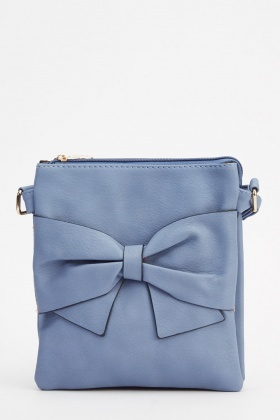 Bow Front Crossbody Bag