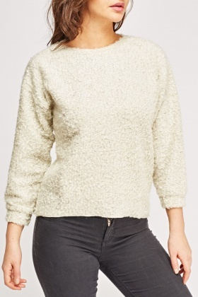 Bobble Knit Casual Jumper