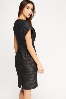 Short Sleeve Pencil Dress