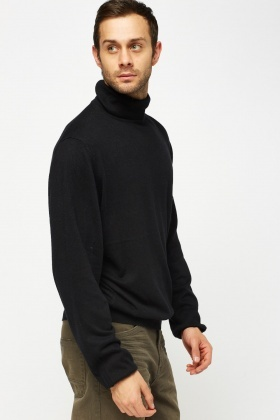 Turtle Neck Thin Knitted Jumper