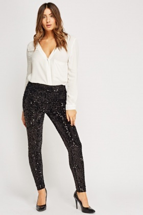 Sequin Disco Leggings