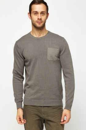 Thin Knitted Cotton Sweater