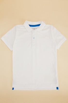 Boys Cotton Polo T-Shirt