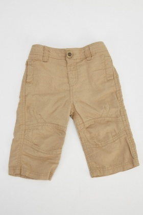 Sand Basic Trousers