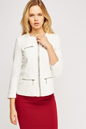Pocket Front Zipped Jacket