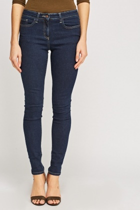 Slim Leg Denim Jeans