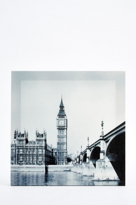 Big Ben London Canvas Wall Art