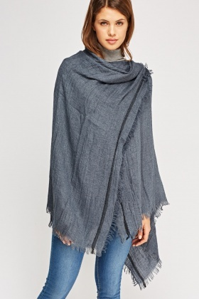 Thin Knitted Scarf